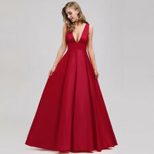 Ever-Pretty US V-neck Evening Holiday Dress A-Line Celebrity Cocktail Party Gown