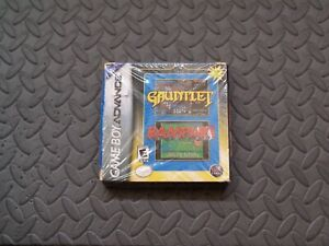 Gauntlet/Rampart (Nintendo Game Boy Advance, 2005) Brand New And Sealed