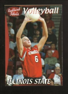 Illinois State Redbirds--2004 Volleyball Pocket Schedule--Country Companies