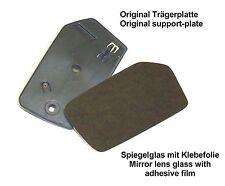 Reparatur Spiegel Glas groß CONVEX LINKS für Mercedes-Benz 107 114 115 116 123
