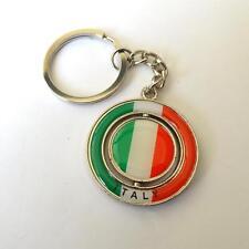 Key Chains, Stainless steel  - revolving pendant -  ITALY -  25 V