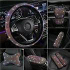 Universal Sparkle Luxury Bling Rhinestone Diamond Car Accessories Cover