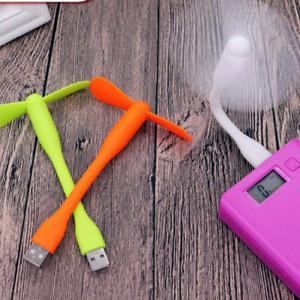 USB Fan For PC Powerbank Notebook Tablet Smartphone Flexible