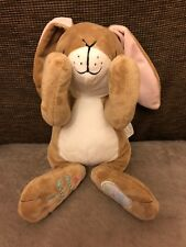 """Guess How Much I Love You Talking Peekaboo Hare Baby Soft Toy 9"""" Rabbit"""