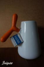 koziol A-Pollo Orange Porcelain Milk Jug Coffee Pot Large