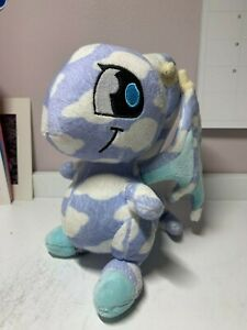 """Neopets Cloud Shoyru Plush Great Condition 6"""" Thinkway Toys 2007 Limited Too"""