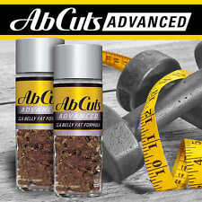 AbCuts Advanced CLA Belly Fat Formula 120 Softgels (2 Bottles, 60 ea) FAST SHIP