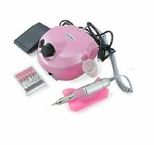 Fresa per Ricostruzione Unghie con Lampada UV 35000 RPM - Rosa