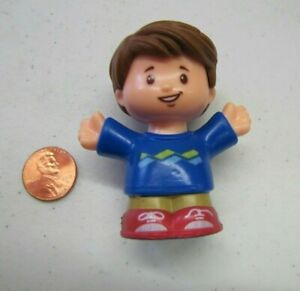 New Fisher Price Little People JACK BOY Brown Hair VILLAGE TOWN for FAMILY Kid