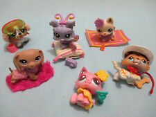 Littlest Pet Shop LOT 4 pcs (1 Dog + 3 Clothing Accessories) LPS RANDOM GIFT LPS