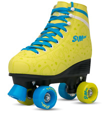 Roller Skates for Women Girls Size 7.5 Yellow Lemon for Adults Teenagers and Kid