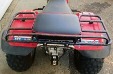 "16"" X 12"" RED REAR RACK SEAT PAD 200E BIG RED 200ES 200M ATC HONDA 3 WHEELER ATV"