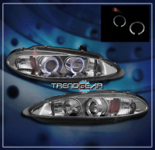 1998-2004 DODGE INTREPID HALO PROJECTOR HEADLIGHT CLEAR 1999 2000 2001 2002 2003