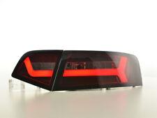Coppia fari/fanali posteriori LED Audi A6 4F berlina 08-11 rosso/fume
