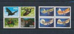 LO44231 Palau insects bats animals wildlife fine lot MNH