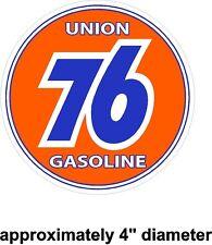 Union 76 Gasoline Vintage Drag Racing sticker decal NHRA Rat Rod Street Rod