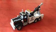 Voiture Miniature Majorette « Dépanneuse Kenworth Police » En Très Bon Etat.