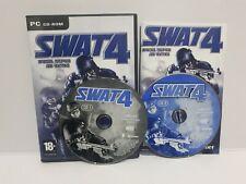 SWAT 4 (PC, 2005) Complete Excellent Condition Retro Rare ~Same Day Dispatch J2L