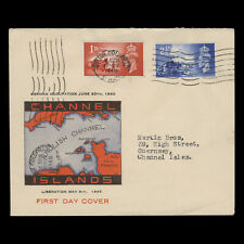 Channel Islands 1948 (FDC) Liberation Anniversary