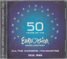 50 Years Of The EUROVISION Song Contest CD (2CD) 1956-1980 All the winners