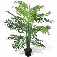 "51"" Artificial Phoenix Palm Tree Fake Plant Potted Home Decor Patio Arrangement"