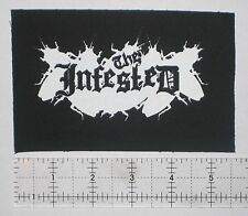 THE INFESTED Patch Crust Anarcho Punk Leftover Crack Morning Glory F-minus MDC