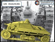 WWI WW2 Christie M1921 SPG Tank 1/35 YHC Criel Crielmodel MENG Takom