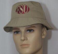 FSU Florida State Tan Bucket Hat Fishing Biking Outdoor Classic Sportswear