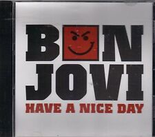 BON JOVI  Have A Nice Day  promo CD single with PicCover