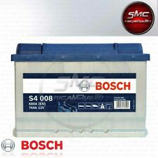 BATTERIA AUTO BOSCH SILVER S4 008 74Ah 680A 12v DX 0092S40080 PRONTA ALL'USO