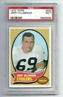 NM 1970 Topps #230 Jerry Hillebrand graded PSA 7.