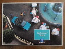 PEUGEOT 306 CABRIOLET orig 1994 UK Mkt Sales Brochure