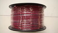 TWIN CORE 3MM FIGURE 8 RED/BLACK 100M WIRE CABLE 10 AMP TRAILER 12V VOLT