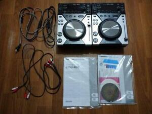 Pioneer CDJ-400 2 Set CD Digital Media Player Dj Player Japanisch
