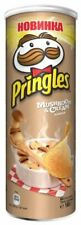 Pringles Snack Potato Chips _  Mushroom & Cream flavor