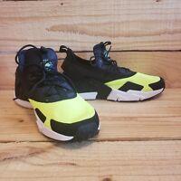 Nike Air Huarache Run Drift Volt AH7334 700 Mens Running Shoes Size Black White