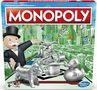 Original Monopoly Board Game Classic Including New Tokens - New