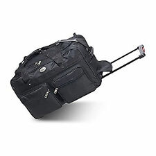 Everest 22-Inch Wheeled Duffel - Black