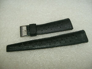 Vintage New Old Stock Divers 20mm Tropical Rubber Wristwatch Strap