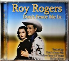 CD Roy Rogers Don't Fence Me In Yellow Rose of Texas Tumblin Tumbleweeds NICE