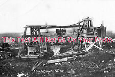 ST 148 - A Black Country Gin Pit, Staffordshire c1916 - 6x4 Photo