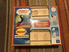 Learning Curve Thomas Train Wooden 2 & 4 Inch Staight Track! New
