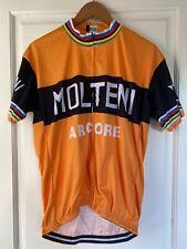 Maillot Cycliste Vélo Vintage Réplique MOLTENI Eddy Merckx Années 80 XL
