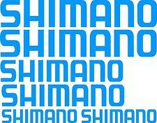 Shimano Stickers 2 x 575 x 100 , 2 x 450 x 80 , 2 x 275 x 50 Avery Material