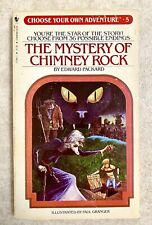 Choose Your Own Adventure #5 : Mystery of Chimney Rock (VINTAGE 1982, Paperback)