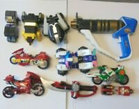 POWER RANGERS - JOB LOT BUNDLE COLLECTION ZORD PARTS & VEHICLES FIGURES ETC LL4