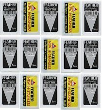 100 Feather Safety Blades -50 Blades In Yellow Pack - 50 Blades In Black Pack