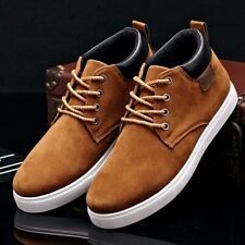 Men Casual Shoes Cotton Spring Autumn Lace-up High Style Youth Ankle Top Sneaker