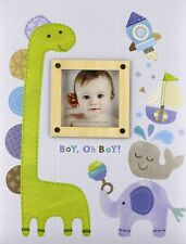 C.R. Gibson Baby Memory Album~Boy, Oh Boy~ First 5 Years Baby Book Boy