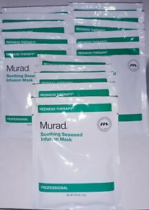 X15 Murad Redness Therapy Soothing Seaweed Infusion Mask 15 Pieces 0.81 oz each